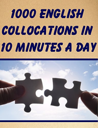 1000 English Collocations in 10 Minutes a Day +cdخرید کتاب زبان