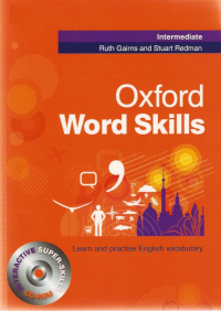 رحلی Oxford Word Skills Intermediate+CD کتاب ورد اسکیلز