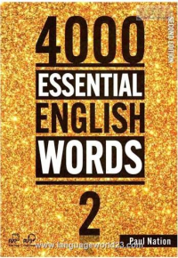 4000Essential English Words 2nd 2+CD کتاب زبان