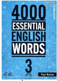 4000Essential English Words 2nd 3+CD کتاب زبان