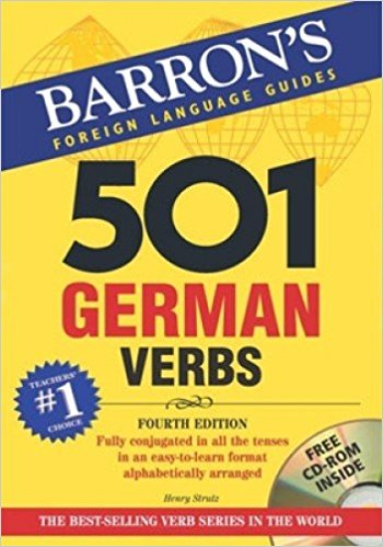 501 BARRONS German Verbs  501 Verb Series  خرید کتاب آلمانی