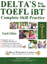 Deltas Key to the TOEFL iBT 4th+CD دلتا