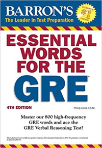 Essential Words for The GRE 4th