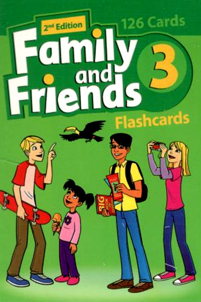 Family and Friends 3 (2nd) Flashcards فلش کارت