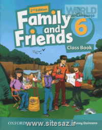 Family and Friends 6 second edition ST+WB+CD بریتیش