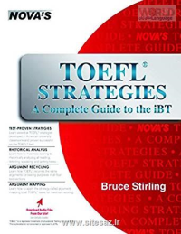 NOVA TOEFL Strategies A Complete Guide to the iBT خرید کتاب تافل