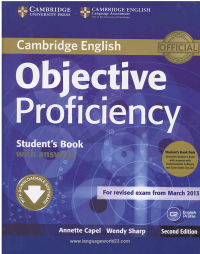 Objective Proficiency students books+WB second editio