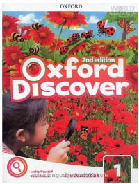 Oxford Discover 1 2nd SB+WB+DVD کتاب زبان