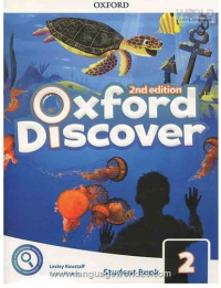 Oxford Discover 2 2nd SB+WB+DVD کتاب زبان