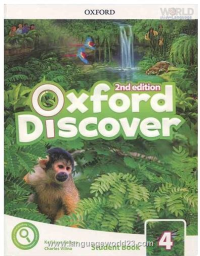 Oxford Discover 4 2nd SB+WB+DVD کتاب زبان