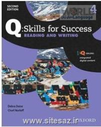 Q Skills for Success  4 Reading and Writing کتاب زبان