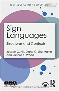 Sign Languages Structures and Contexts کتاب زبان