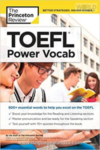 TOEFL Power Vocab کتاب تافل