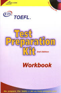 TOEFL Test Preparation Kit ETS+CD