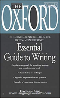The Oxford Essential Guide to Writing کتاب زبان