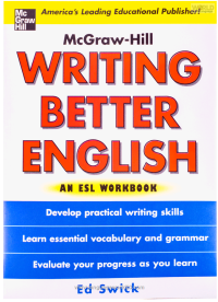 Writing Better English An ESL Workbook کتاب زبان