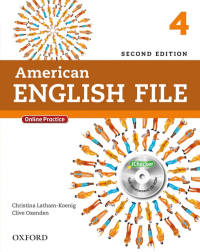American English File 4 (2nd) SB+WB+2CD+DVD