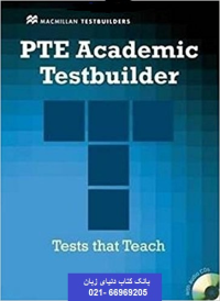PTE Academic Testbuilder Students Book with Audio+CD خرید کتاب